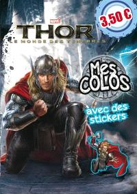 Thor : le monde des ténèbres : mes colos avec des stickers