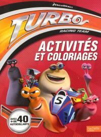 Turbo racing team : activités et coloriages
