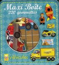 Véhicules : maxi boîte : 220 gommettes