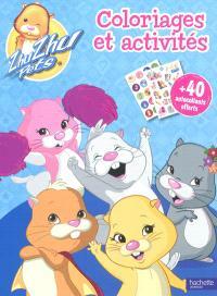 Zhu Zhu pets, Zhu Zhu pets : coloriages et activités