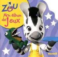 Zou : mon album de jeux