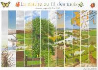 La nature au fil des mois : calendrier perpétuel