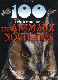 Les animaux nocturnes