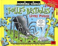 Folles bestioles : livre-puzzle
