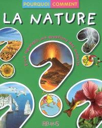 La nature : pour répondre aux questions des enfants