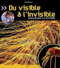 Du visible à l'invisible : explorons la matière