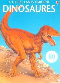 Dinosaures : plus de 80 autocollants