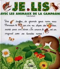 Je lis avec les animaux de la campagne