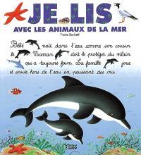 Je lis avec les animaux de la mer