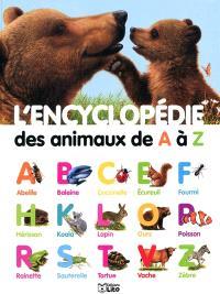 L'encyclopédie des animaux de A à Z