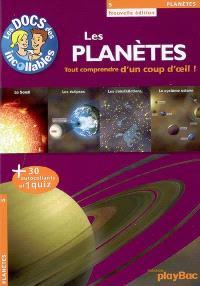 Les planètes : tout comprendre d'un coup d'oeil !