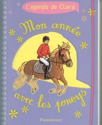 Mon année avec les poneys : l'agenda de Clara