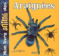 Mon livre animé des araignées