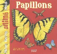 Mon livre animé des papillons