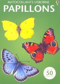 Papillons : plus de 50 autocollants