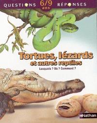 Tortues, lézards et autres reptiles