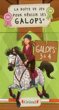 Galops 3 & 4 : la boîte de jeu pour réussir ses galops