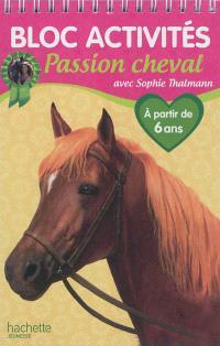 Bloc activités passion cheval avec Sophie Thalmann : à partir de 6 ans