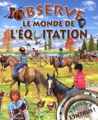 Le monde de l'équitation