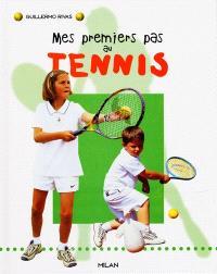 Mes premiers pas au tennis