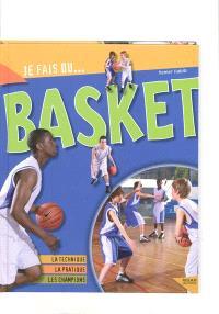 Je fais du basket