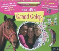Mon coffret Grand galop : tout pour vivre et partager ta passion avec Carole, Lisa et Steph !