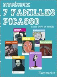 7 familles Picasso : et leur livret de famille !