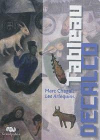 Tableau décalco : Marc Chagall, Les Arlequins