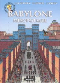 Les voyages d'Alix, Babylone, Mésopotamie