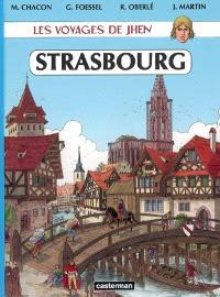 Les voyages de Jhen, Strasbourg : des origines au XVIe siècle