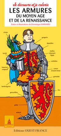 Je découvre et je colorie les armures du Moyen Age et de la Renaissance