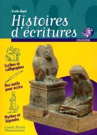 Histoires d'écritures