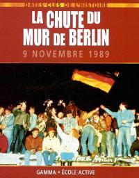 La chute du Mur de Berlin : 9 novembre 1989