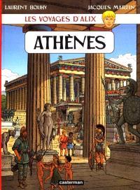 Les voyages d'Alix, Athènes