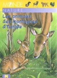 Les animaux des montagnes d'Europe