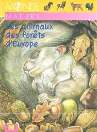 Les animaux des forêts d'Europe