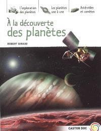 A la découverte des planètes