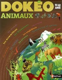 Dokéo animaux : 9-12 ans