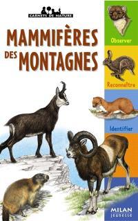 Mammifères des montagnes