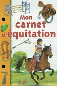 Mon carnet d'équitation