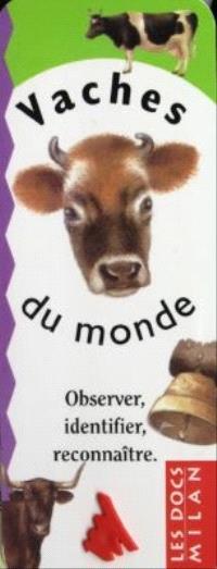 Vaches du monde : observer, identifier, reconnaître