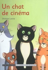 Un chat de cinéma