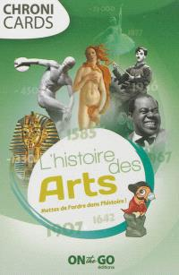 L'histoire des arts : mettez de l'ordre dans l'histoire !