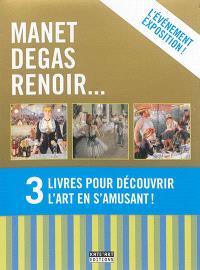Manet, Degas, Renoir... : 3 livres pour découvrir l'art en s'amusant !