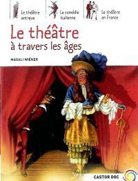Le théâtre à travers les âges : le théâtre antique, la comédie italienne, le théâtre en France