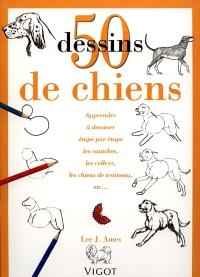 50 dessins de chiens