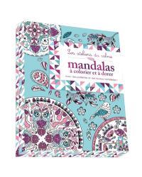 Mandalas à colorier et à dorer