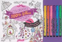 Coloriages 100 % filles : une frise de 3 mètres à colorier !