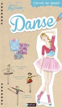 Jeune styliste : carnet de dessin, Danse