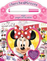 Minnie : cherche et trouve avec pages effaçables